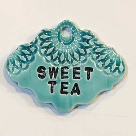 Sweet Tea Drink Ceramic Marker
