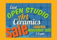 East Open Studio Sale