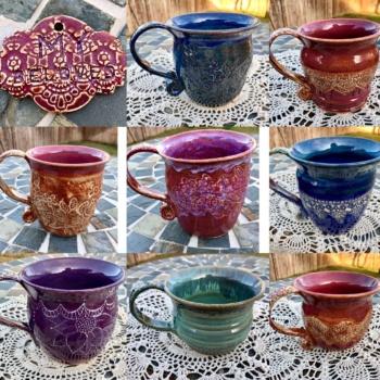 Handmade mugs Michelle East