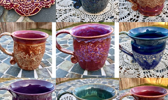 Handmade mugs Michelle East