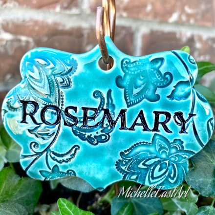 Rosemary Garden Marker