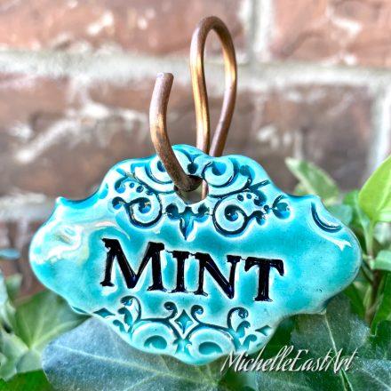 Mint Garden Marker