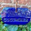 Cucumber garden marker label