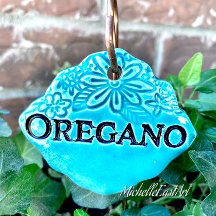 Oregano Garden Marker