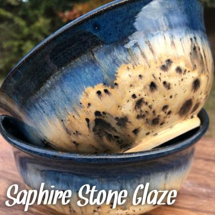 Saphire Stone Glaze combo