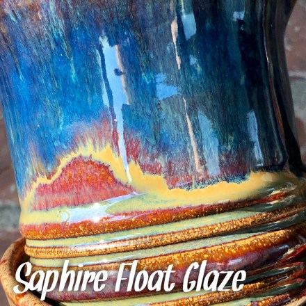saphire float glaze combo