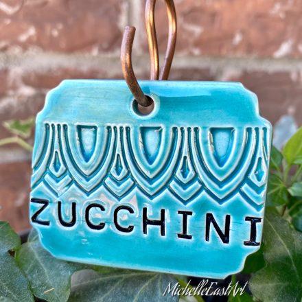 Zucchini Garden Marker