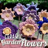Ceramic Garden Flower