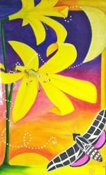 """""""DUSK"""" Lemon Lily Festival Banner (3' x 5')"""