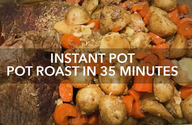 quick and easy instant pot pot roast recipe