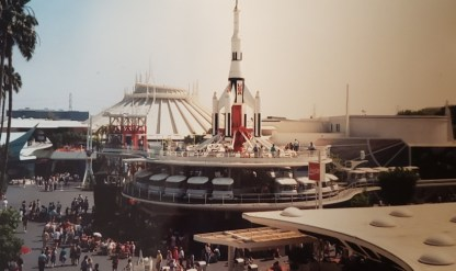 Disneyland Tomorrowland 1990