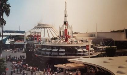 Disneyland Tomorrowland 1990