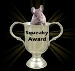 Squeaky Award