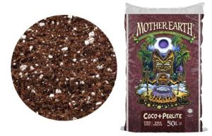 Mother Earth Coco + Perlite Mix | 50L | RHP Certified Natural Plant Growth Media | $36.24 + Free Shipping with Amazon Prime