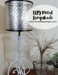 How to Create a DIY Metal Lampshade
