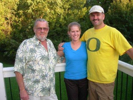 Dad, Nic, Ken