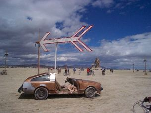 Burningman art car 2000