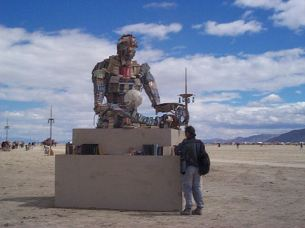 Burningman book art 2000