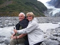 Larry and Ma in New Zealand