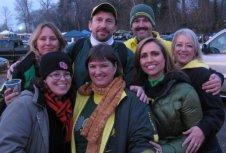 Cindy, Steve, Ken, Sandra, Kelly, Me, Chelle Civil War 2009