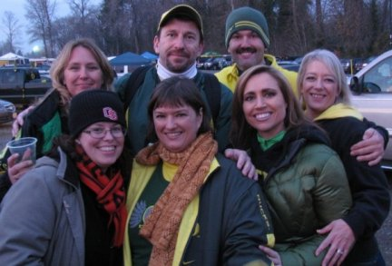 Cindy, Steve, Ken, Sandra, Kelly, Me, Chelle Civil War 2009