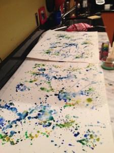 Channeling Pollock