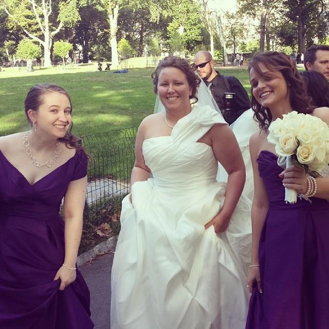 Wedding Day ! #newyork #wedding #centralpark #photography