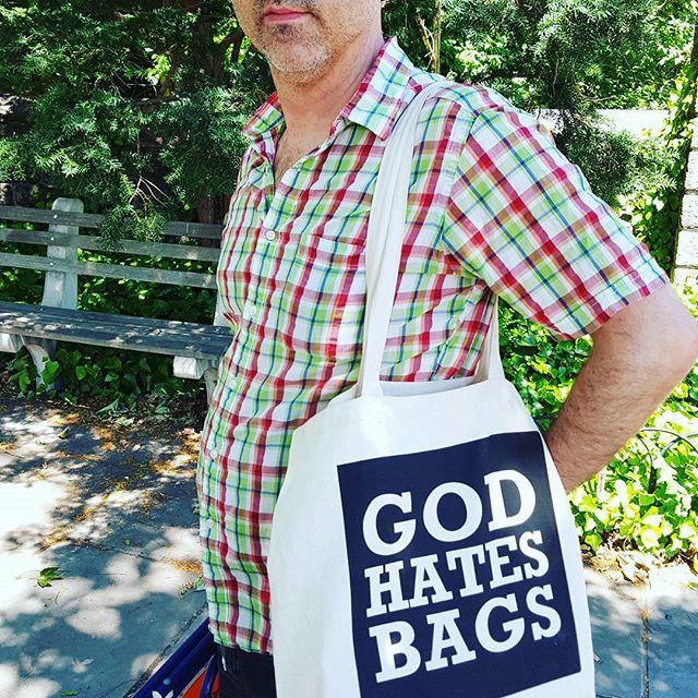 God Hates Bags #irony #hilarious #amusing