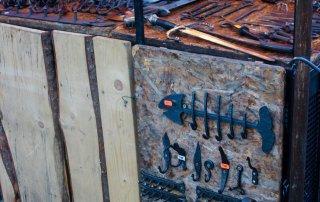 Blacksmith wares in Prague