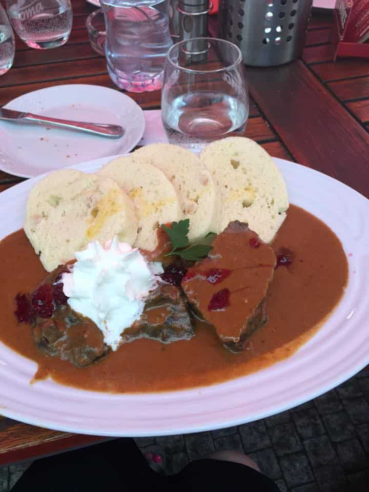 Czech Gulash in Prague