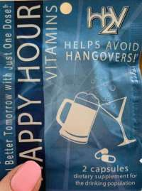 Hangover travel packets