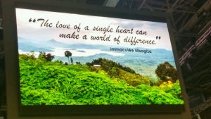 """The love of a single heart can make a world of difference."" ~ Immaculee Ilibagiza"