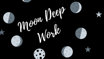 Moon Phase Journal Prompts 2018 | Balance Shared