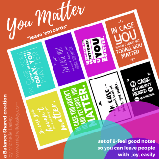 You Matter Card Ad