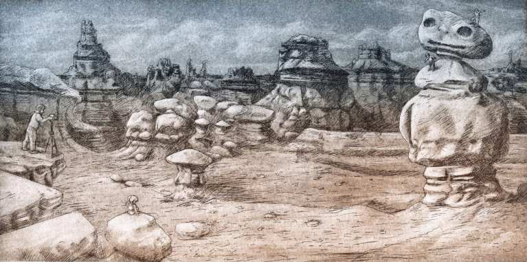 Title: That Time We Rock Climbed in Goblin Valley… (Childhood Memories: Family Trip to Goblin Valley, Utah)