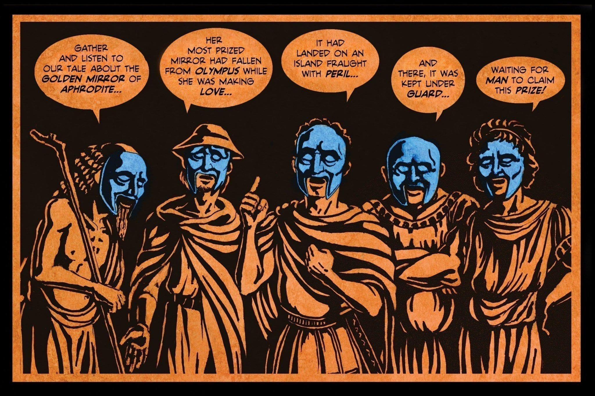 A Greek Tragedy Page 1