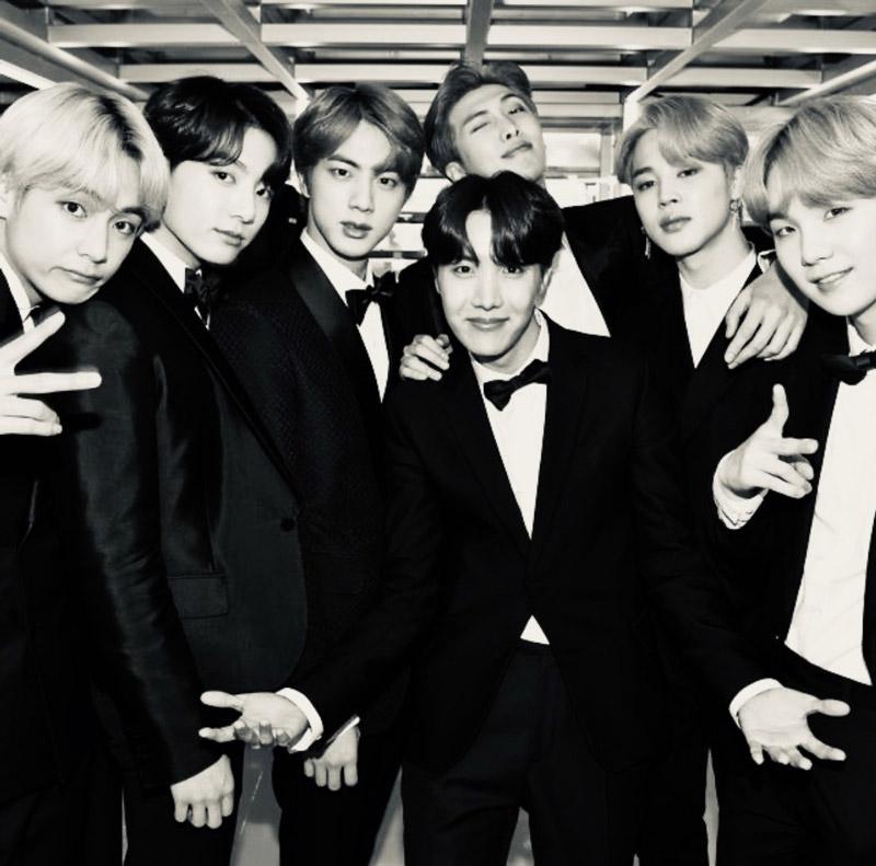 BTS - Korean Pop Group
