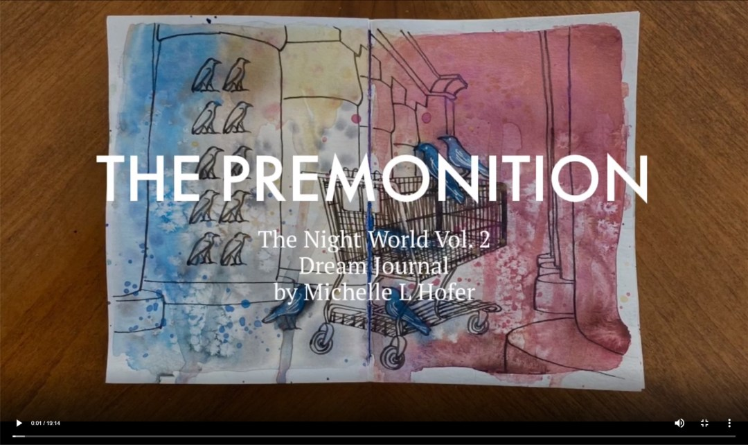 The Premonition Video Link - The Night World Vol. 2 Dream Journal by Michelle L Hofer