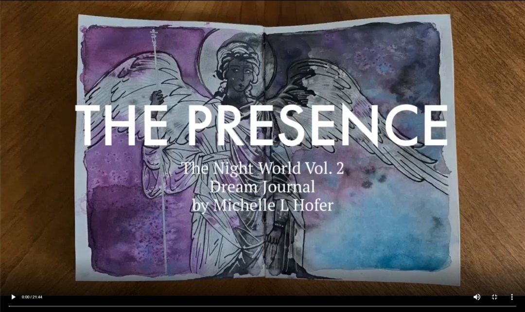 The Presence Video Link - The Night World Vol. 2 Dream Journal by Michelle L Hofer