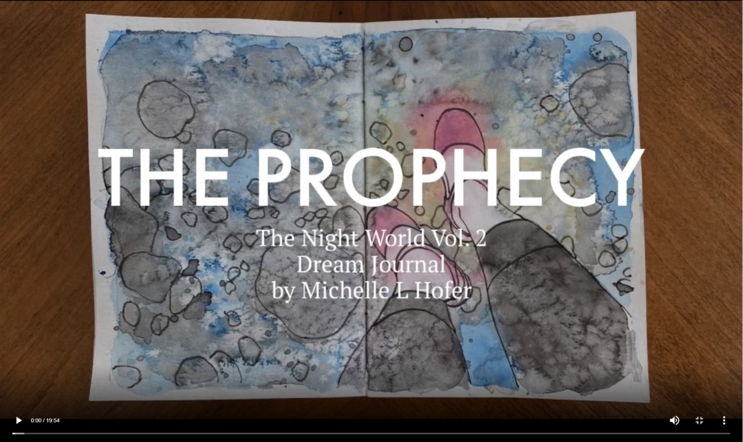The Prophecy Video Link - The Night World Vol. 2 Dream Journal by Michelle L Hofer