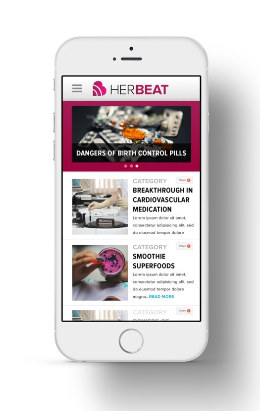 herbeat information page