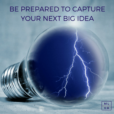 Be Prepared to Capture Your Next Big Idea