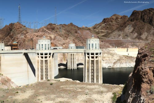 Hoover Dam view.