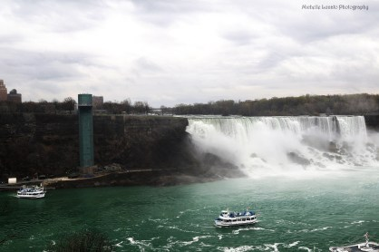 Niagra Falls, view of the American side.