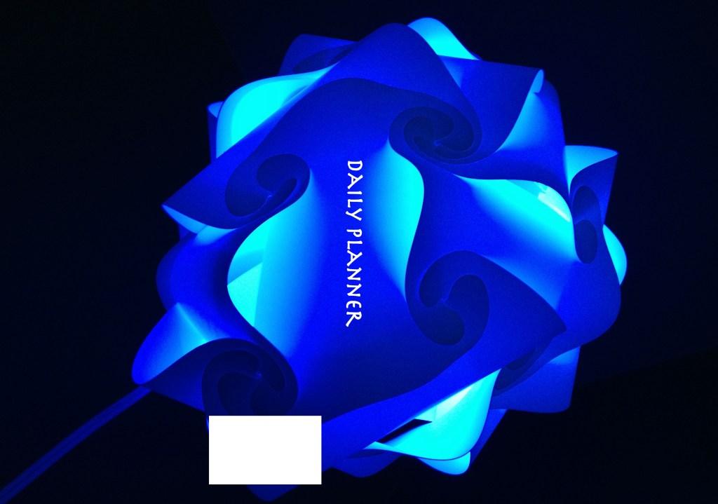 swirls in blues