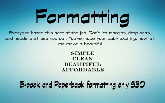 book formatting, paperback formatting, author services, fiction, genres, ebook formatting
