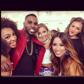 Jason Derulo and his new girl group!