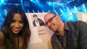 Billboard Music Awards rehearsal