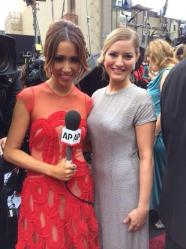 AP Live at the Oscars w/ contributor, iJustine