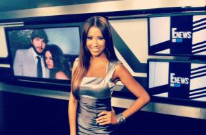 #MMSteez - E! News Now: Dress: Adrianna Papell